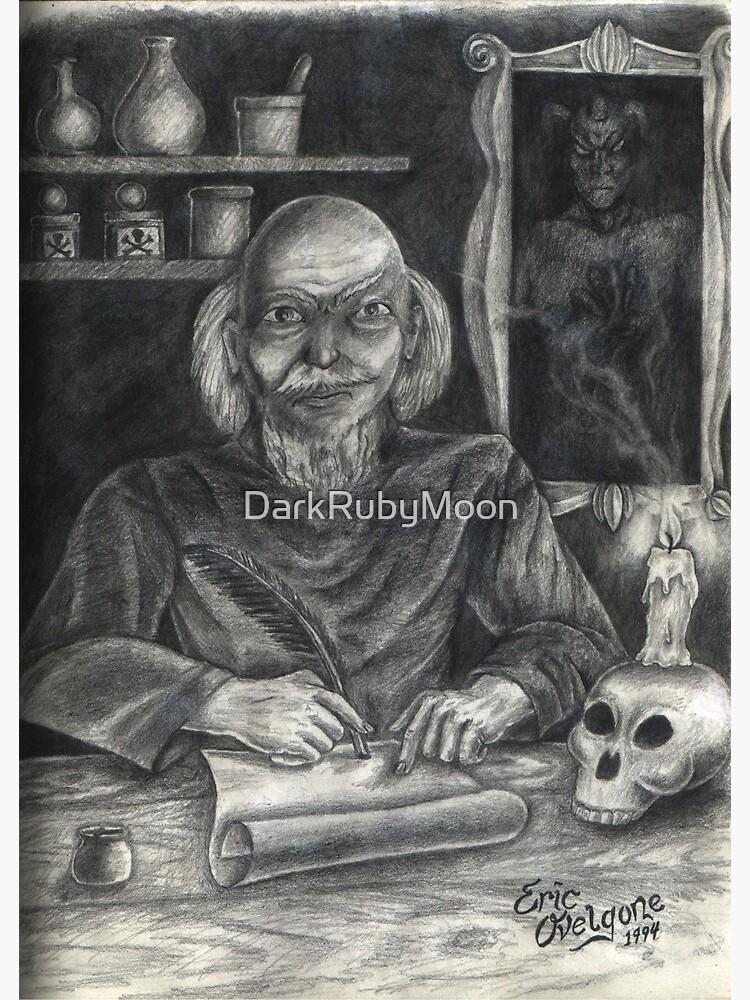 Nostradamus by DarkRubyMoon