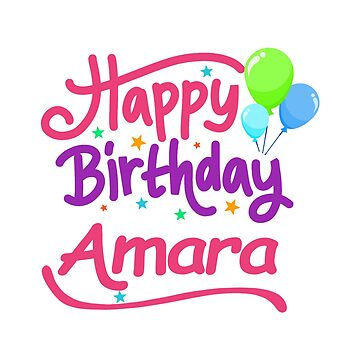 Happy Birthday Amara by PM-Names