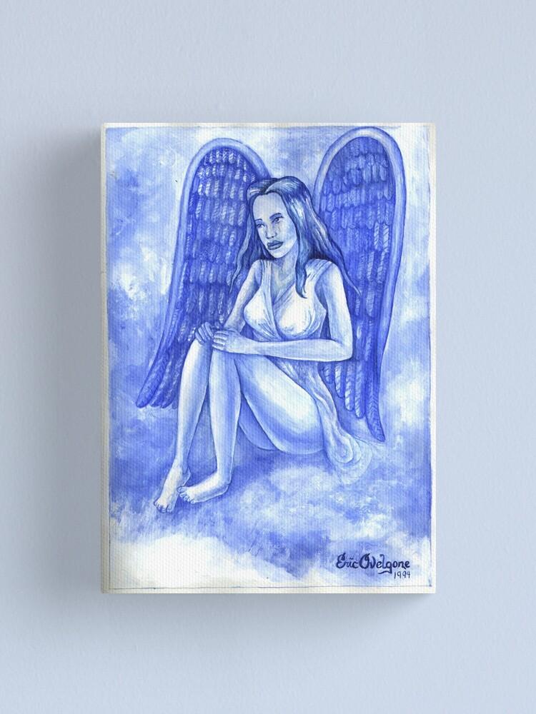 Alternate view of Blue Angel Canvas Print