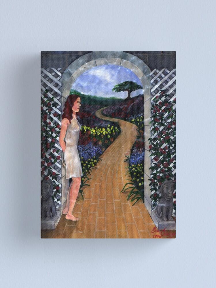 Alternate view of Yellow Brick Road Canvas Print