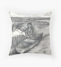 Ahab Throw Pillow