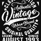 Vintage since august 1993 by NEDERSHIRT