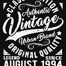 Vintage since august 1994 by NEDERSHIRT