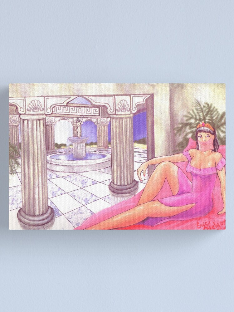 Alternate view of Aphrodite's Palace  Canvas Print