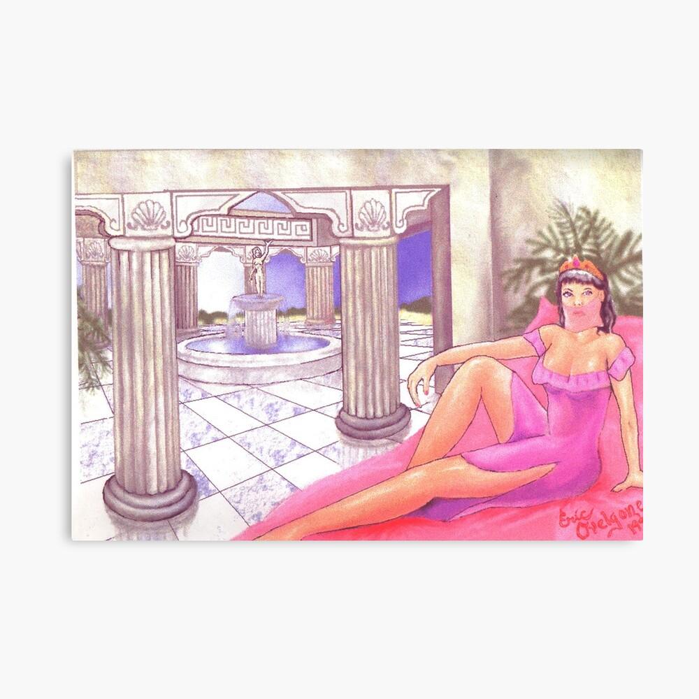 Aphrodite's Palace  Canvas Print