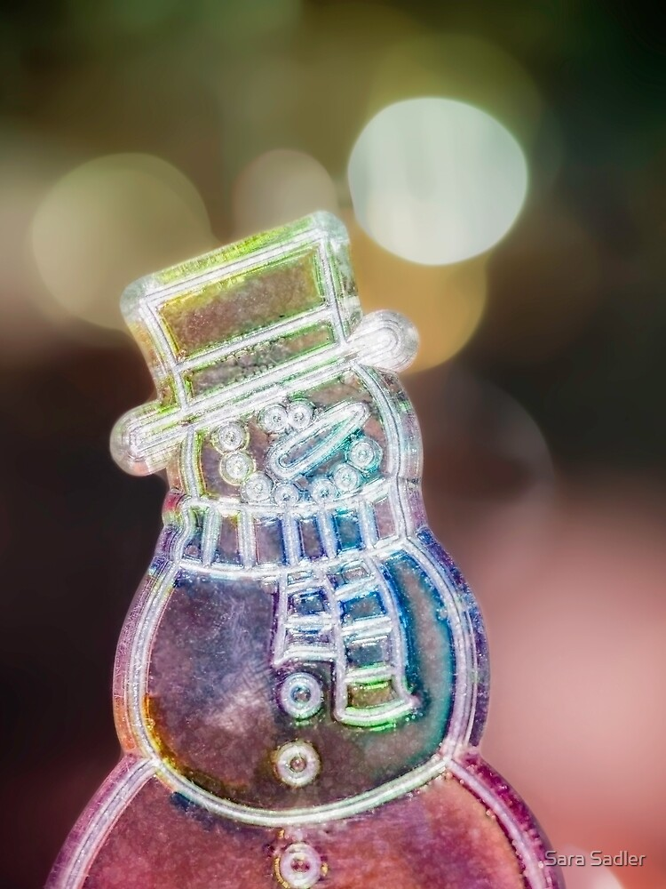 Christmas Snowman decoration  by sadler2121