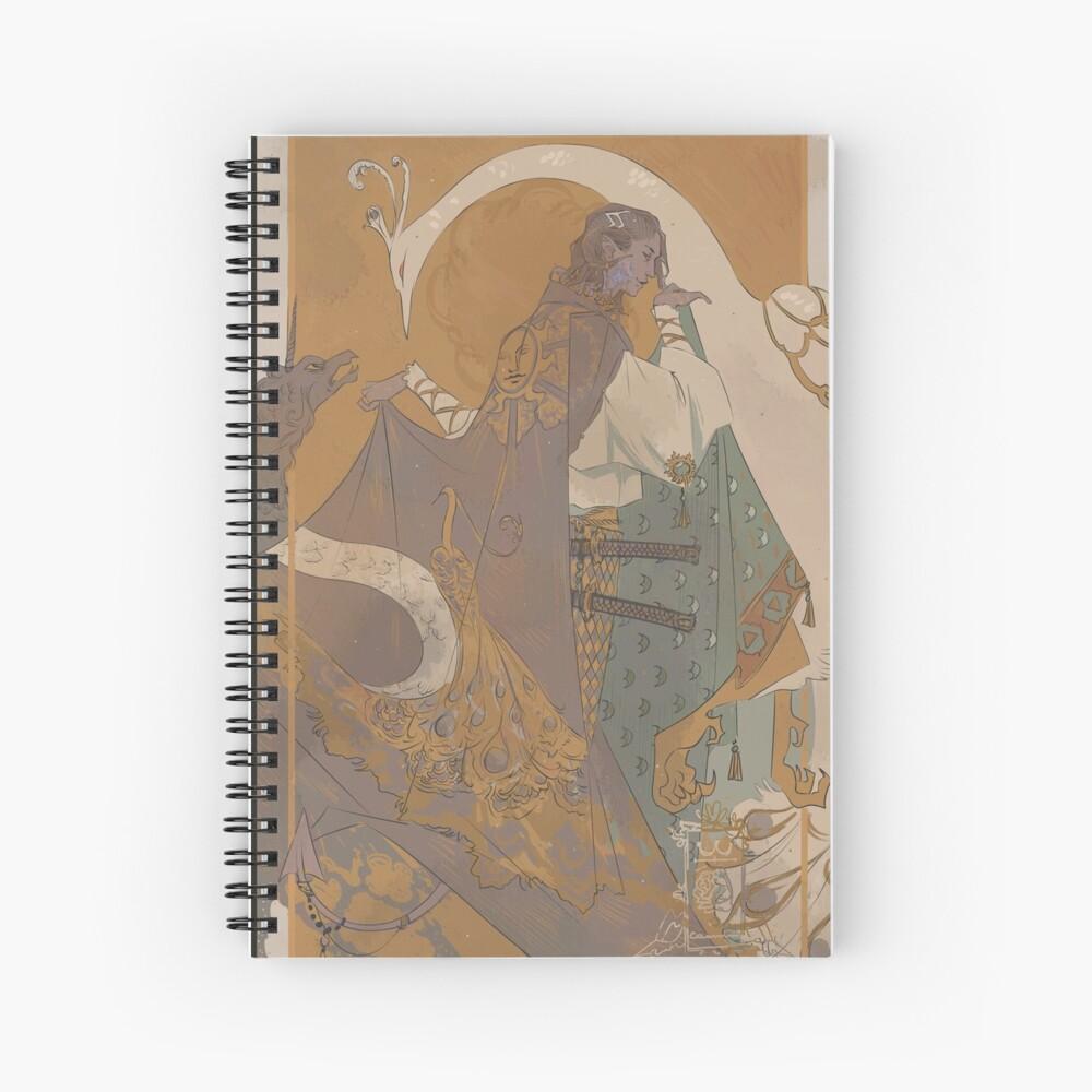 Mollymauk 02 Spiral Notebook