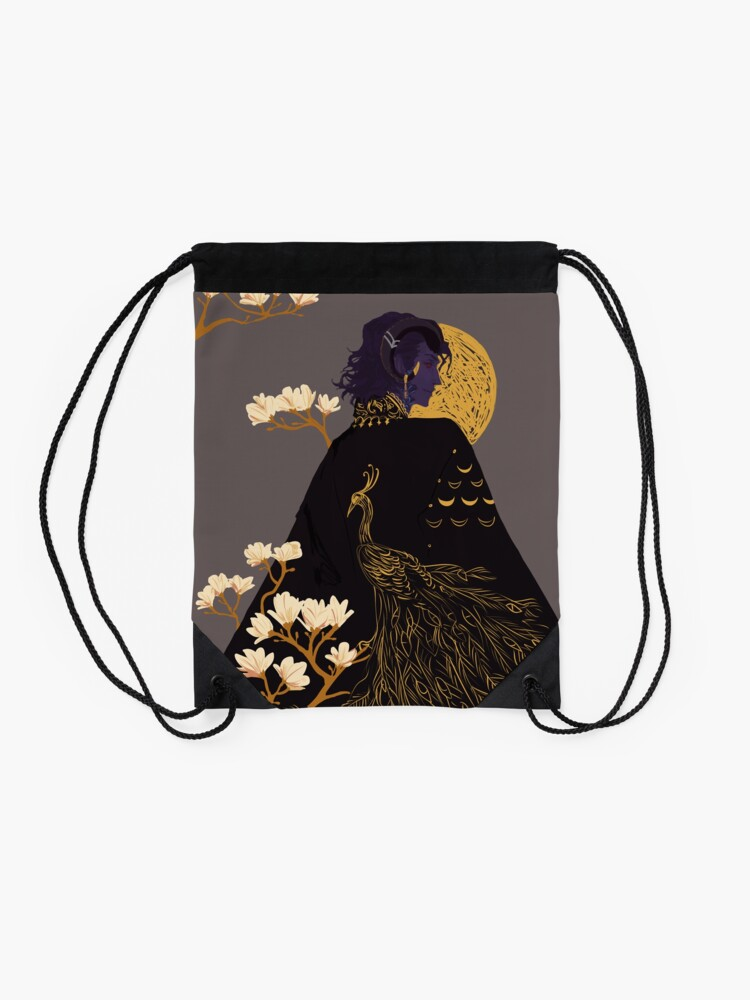 Alternate view of Mollymauk 01 Drawstring Bag