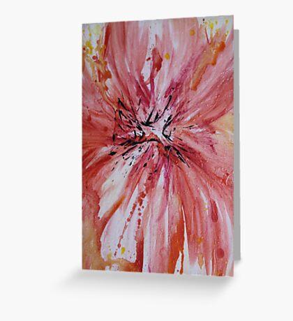 Silk Petals  Greeting Card
