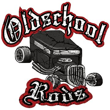 Oldschool Rods by AK1Shirts