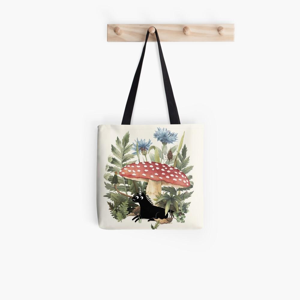 Tiny Unicorn Tote Bag