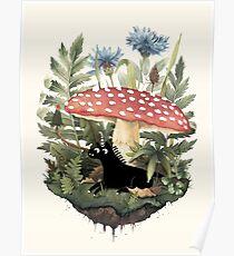 Kleines Einhorn Poster