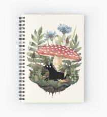 Tiny Unicorn Spiral Notebook