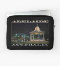 Illuminated Elegance (poster on black) Laptop Sleeve