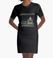 Illuminated Elegance (poster on black) Graphic T-Shirt Dress
