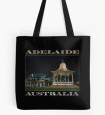 Illuminated Elegance (poster on black) Tote Bag