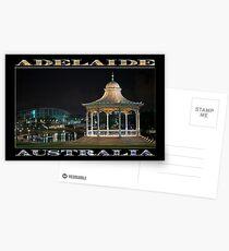 Illuminated Elegance (poster on black) Postcards