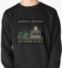 Illuminated Elegance (poster on black) Pullover