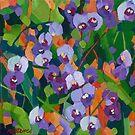 Hardenbergia by Mellissa Read-Devine