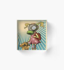 Protest Fight Pollution Rise Against Pollution Polluted World Acrylic Block