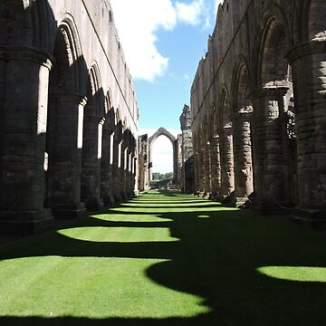 Fountains Abbey: Windows That Were by CreativeEm