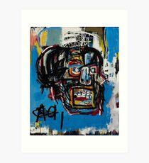 Basquiat Streetart Art Print
