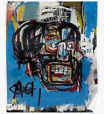 Basquiat Streetart Poster