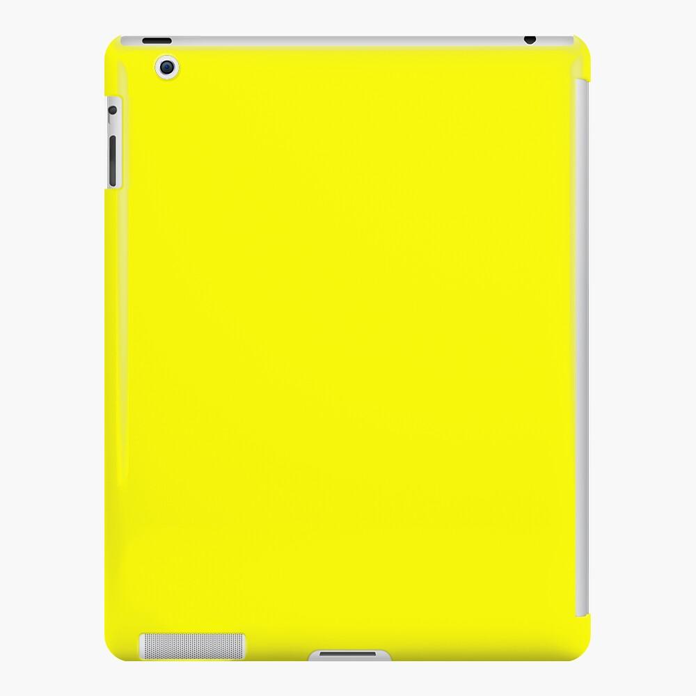 Helles Gelb iPad-Hülle & Skin