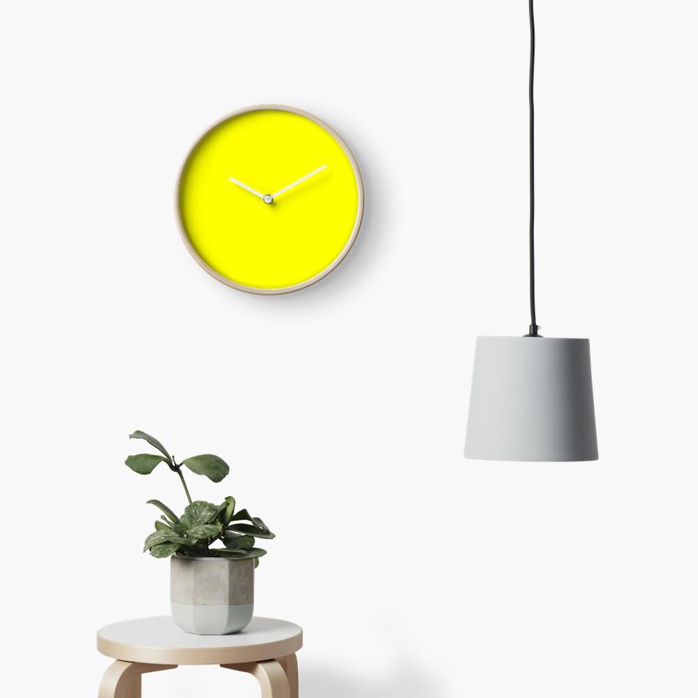 Helles Gelb Uhr