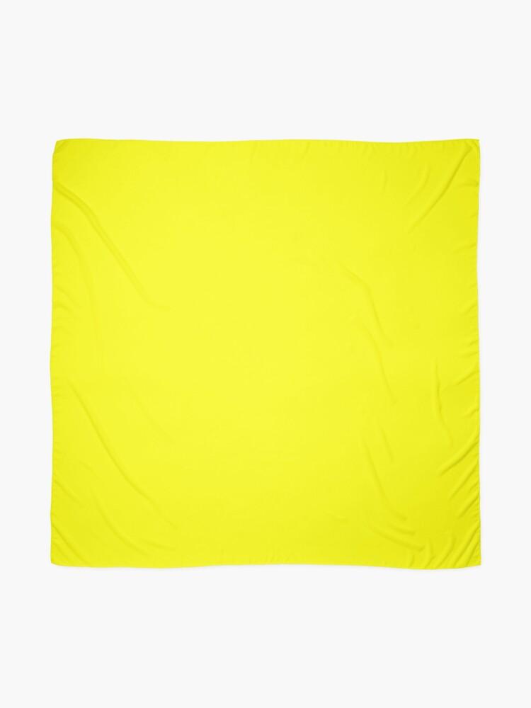 Alternative Ansicht von Helles Gelb Tuch