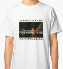 Adelaide Riverbank at Night (poster on white) Classic T-Shirt