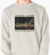 Adelaide Riverbank at Night (poster on white) Pullover
