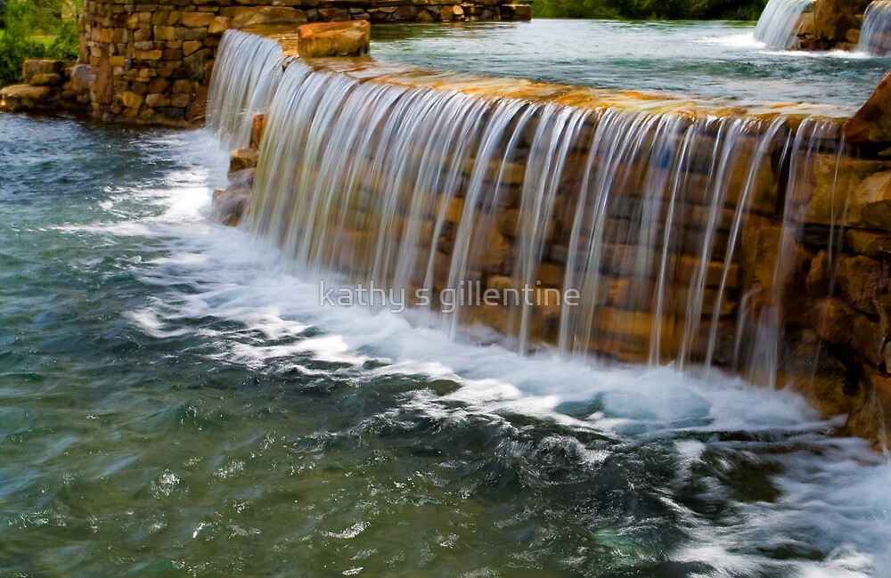 the flow of water by kathy s gillentine