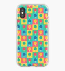Table Tennis Ping Pong Racket - Pattern iPhone Case