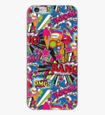 Pop art madness! iPhone Case