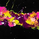 Brightly Splattered by Ilze Lucero