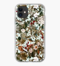 Floral and Birds XXVII iPhone Case