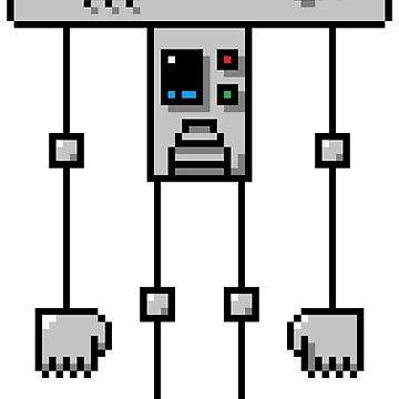 Pixel Robot 015 by Vampireslug