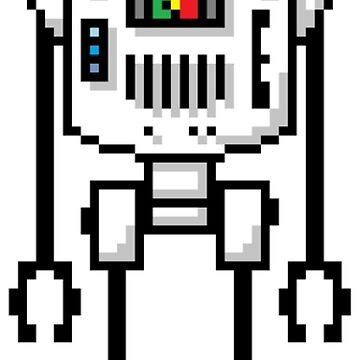 Pixel Robot 016 by Vampireslug
