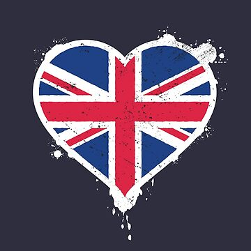 Union Jack Heart Flag by zoljo