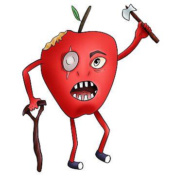 Old apple warrior by Melcu