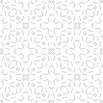 Geometric Dotted Pattern by DFLCreative