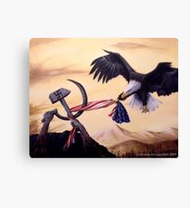 Freedom's Battle Canvas Print