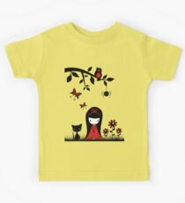 Little Red Ribbon Head Kids Clothes