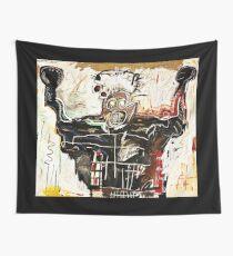 Basquiat Streetart Boxer Wall Tapestry