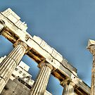 Detail from Akropolis by George Kypreos