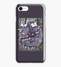 Rage against the Bureaucracy iPhone Case/Skin