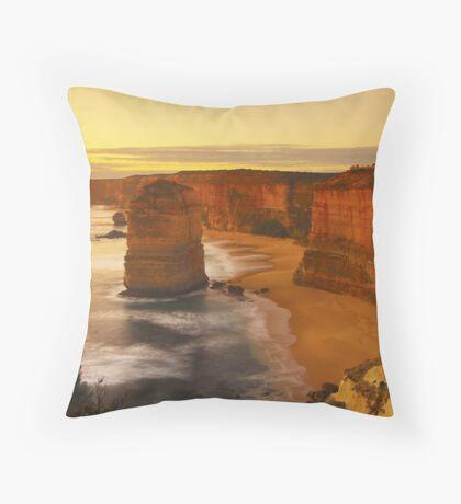The Twelve Apostles at Sunset Throw Pillow
