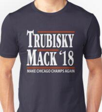 Khalil Mack Mitchell Trubisky Shirt Chicago Bears Football Fans T-Shirt Unisex T-Shirt