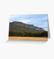 Megalong Greeting Card
